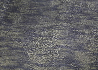 China Custom Embossed Printed PU Leather 0.65 Mm Eco - Friendly For Garment supplier