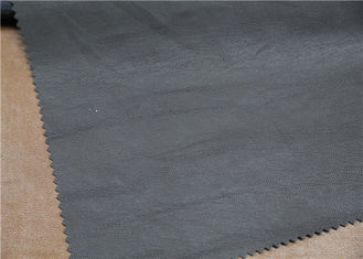 China Abrasion Resistant Garment Leather Fabric No Fading Eco - Friendly supplier