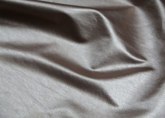 China Ladies ' Garment PU Synthetic Leather Handfeeling For Clothing Fabric supplier