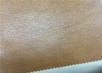 China Durable Faux Leatherette Fabric  Normal Peeling Strength Fire - Retardant supplier