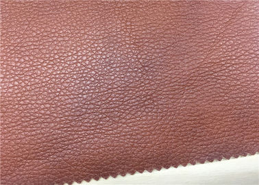 China High Elasticity Sofa Leather Fabric Normal Peeling Strength No Fading Fire - Retardant supplier