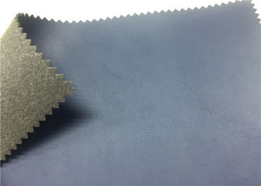 China Dark Blue Shoes Synthetic Leather 1.4 Mm Nonwoven Backing For Sports Shoes supplier