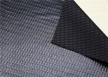 China Durable Premium Bonded Leather  PU + Polyester + Viscose Composition supplier