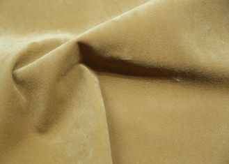 China 100% Viscose Backing PU Leather Flocking Fabric For Upholstery Handfeeling supplier