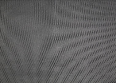 China Black Half Punched Punched Leather 0.65 Mm For Garment Bags Shoes Anti - Aging supplier