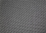 China Durable Perforated Leather Fabric , 260 Gsm Faux Leather Fabric For Clothing factory