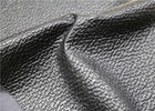 China Waterproof Soft Faux Leather Fabric , PU Artificial Leather Abrasion Resistant company