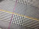 China Red / Yellow Lines Printed Printed Leather 0.15mm - 0.20mm Abrasion Resistant company