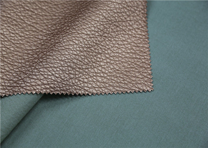Viscose Backing Soft Pu Leather Durable Faux Leather Upholstery Fabric
