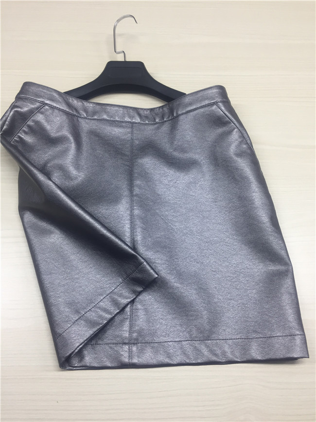 Ladies ' Garment PU Synthetic Leather Handfeeling For Clothing Fabric