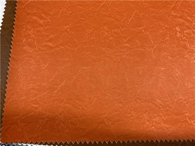 Velvet Touch Feeling Pu Artificial Leather Pu Faux Leather Normal Tearing Strength