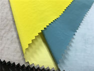 Colorful Skin Friendly Pu Coated Nylon Fabric 0.15mm Thickness For Light Jacket